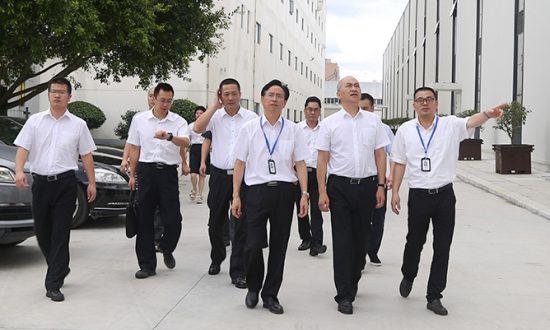 温州市中级人民法院徐亚农院长一行莅临合兴调研