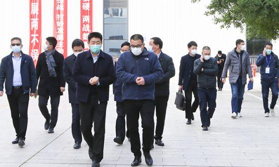 市委副书记陈浩一行莅临合兴督导疫情防控和复工复产工作